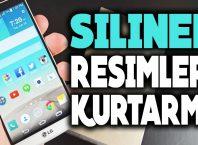 Android Silinen Videoları Geri Getirme