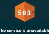 İnternette Sıkça Karşılaşılan 503 Service Unavailabe Hata Sorunu Nedir?